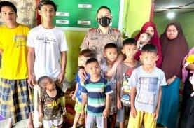 Serdik Sespimmen Dikreg Ke-61 Kompol Ade Hermanto Serahkan Sembako ke Panti Asuhan