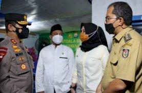 Wali Kota Makassar Dampingi Plt Gubernur Sulsel Pantau Pos Pengamanan Lebaran