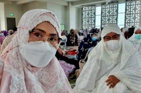 Majdah: Anugerah Ramadan, Warga Taat Protokol Kesehatan Salat Idulfitri di Masjid Ash Shahabah UIM