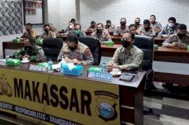 Launching Call Center Polri 110, Sekda Makassar Apresiasi Kinerja Kepolisian