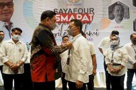 Sekda Sulsel Kukuhkan Pengurus Four Smapat Makassar