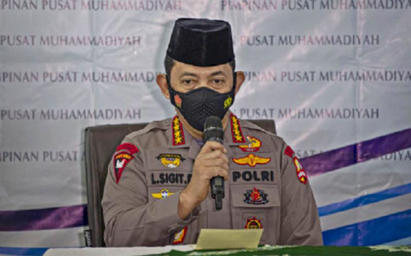 Jenderal Pol Listyo Sigit Prabowo. foto: istimewa