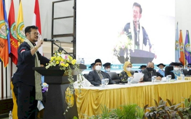 Syahrul Yasin Limpo. foto: humas kementan