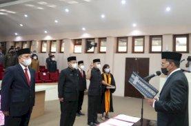 Danny Pomanto Kukuhkan 61 Pejabat Pemkot Makassar