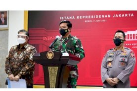 TNI dan Polri Perkuat Pelaksanaan PPKM Mikro