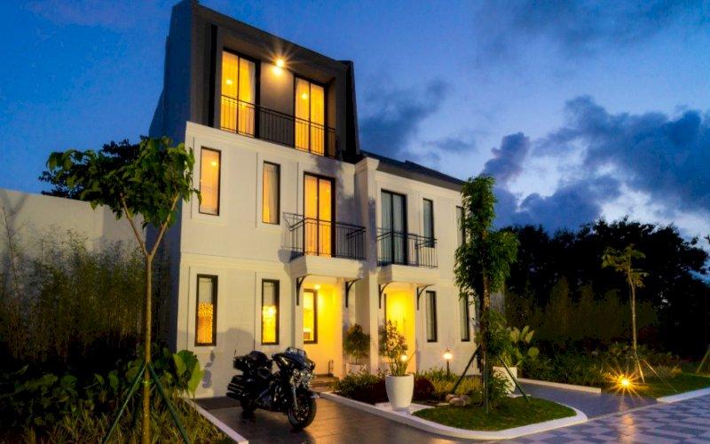 HUNIAN KLASIK. Ilustrasi The Topaz Residence yang akan dibangun Summarecon Mutiara Makassar. foto: humas smm