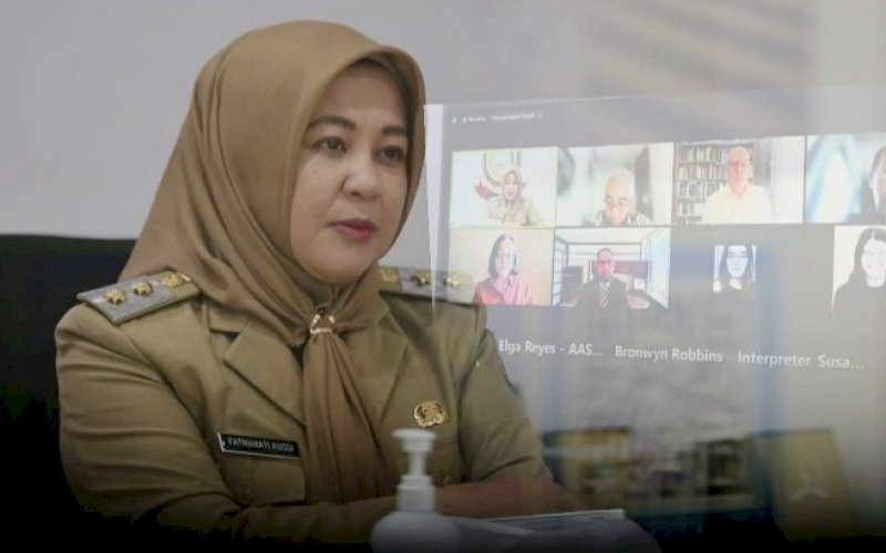 Fatmawati Rusdi. foto: humas pemkot makassar