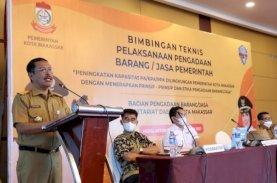 Sekda Makassar Minta OPD Ikuti Aturan Pengadaan Barang dan Jasa