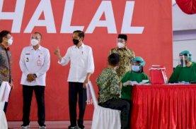 Presiden Targetkan Satu Juta Vaksinasi Per Hari pada Juli Mendatang