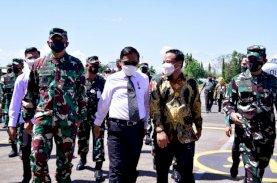 Dihadiri Menkopolhukam, Plt Gubernur Sulsel Saksikan Simulasi Force Down Pesawat Asing