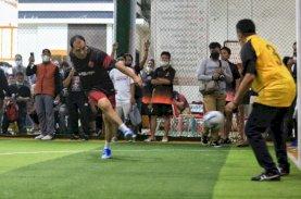 Keseruan Bermain Futsal Ala Wali Kota Makassar
