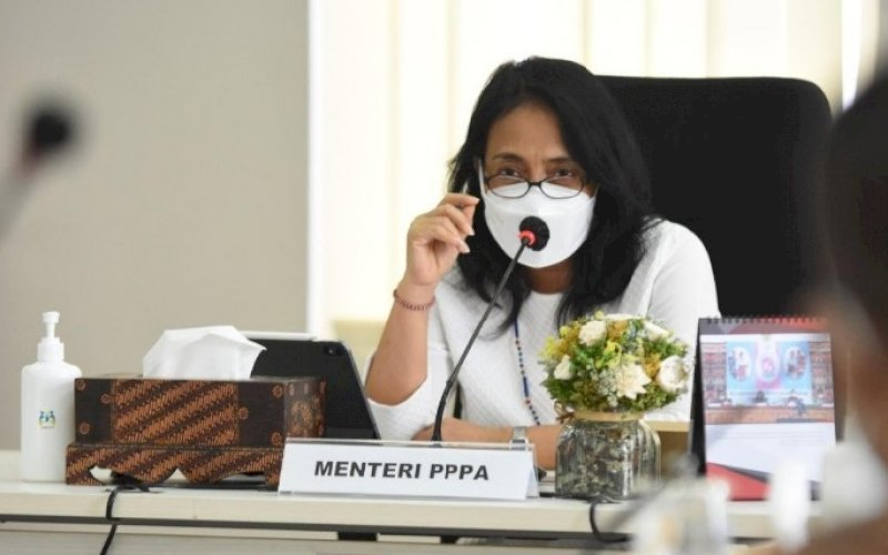 Bintang Puspayoga. foto: humas kementerian pppa