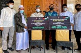 Serahkan Donasi Palestina, Wali Kota Makassar Ucapkan Terima Kasih