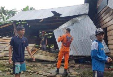 27 Rumah Terdampak Angin Puting Beliung di Lutra, Ini Langkah Pemprov Sulsel