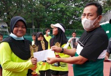 Pangkep Dominasi Emas Kejurnas Tenis Junior Pelti Makassar