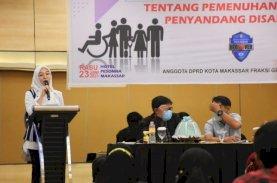 Penyandang Disabilitas Diberikan Kesetaraan di Makassar