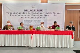 Pencegahan dan Penindakan Korupsi Tak Cukup Mengandalkan APH