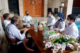 Ketua Bawaslu Temui Wali Kota Makassar Bahas Pendidikan Politik bagi Masyarakat