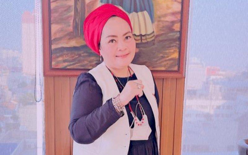 Hj Asyfa M br Ginting Manik. foto: istimewa