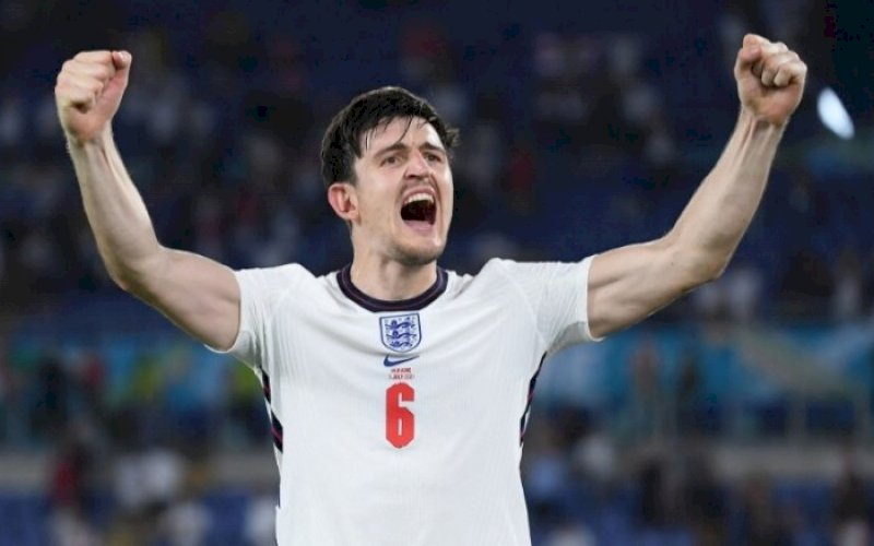 Harry Maguire. foto: twitter @euro2020