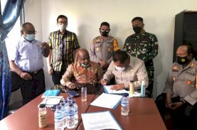 Forkopimda Tolikara Serahkan Distrik Tagineri dan Tagime ke Jayawijaya