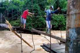 Banjir di Bulukumba Surut, Sisakan Kerusakan Infrastruktur
