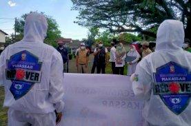 Lurah Tallo Lepas Satgas Detektor dan Nakes Makassar Recover