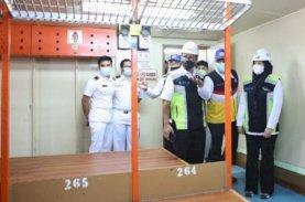 Danny-Fatma Tinjau Fasilitas Kapal Pelni untuk Isolasi Apung