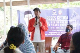 Rudianto Lallo Keliling Pulau Terluar di Makassar Jemput Aspirasi dan Beri Solusi