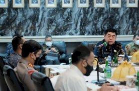 Abdul Hayat Bersama Forkopimda Ikut Rakor KPCPEN dan Bansos