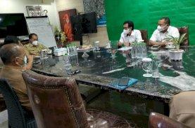 Temui Danny Pomanto, Bulog Makassar Siap Distribusikan Bantuan Beras