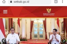 Website Sekretariat Kabinet Dibobol Hacker