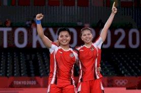 Greysia/Apriyani Selangkah Menuju Emas Olimpiade Tokyo