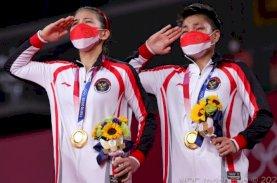 Greysia/Apriyani Ukir Sejarah dengan Emas di Olimpiade Tokyo