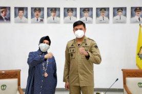 Gerakan Sedekah Plasma, Indira Koordinasi dengan Ketua PMI Sulsel