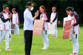 Presiden Serahkan Bonus Apresiasi bagi Atlet Indonesia di Olimpiade Tokyo