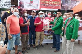 KKT Jeneponto Salurkan Bantuan untuk Korban Kampung Lepping