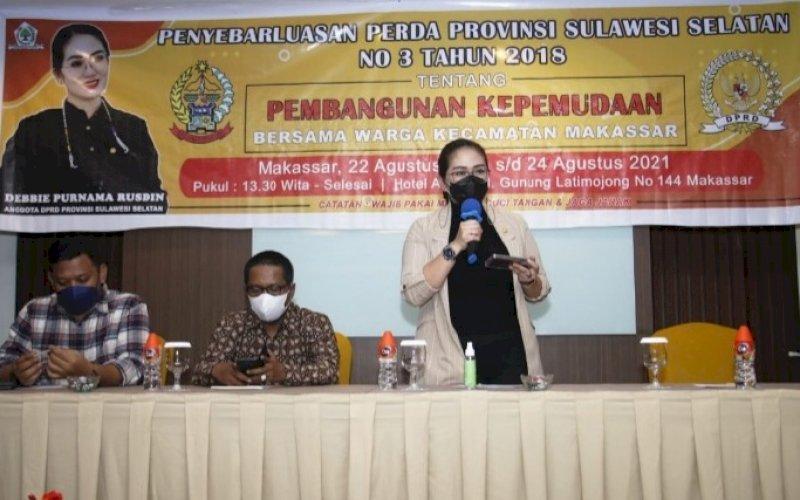 Debbie Purnama Rusdin. foto: istimewa