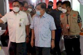 Prof Kadir, JK, dan SYL Tampil Mesra Saat Hadiri Vaksinasi Massal IKA Unhas di Jakarta