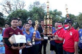 Juku Eja FC Juara Kejuaraan Sepak Bola Ketua DPRD Makassar
