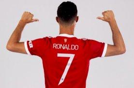 Cristiano Ronaldo Kembali Memakai Nomor Punggung 7