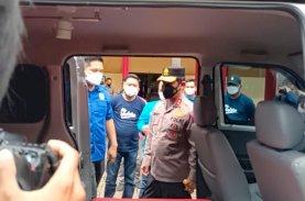 Kapolda Launching Ambulans Lembaga Kesehatan KNPI Sulsel