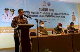Balitbangda Makassar Finalisasi Naskah Akademik Dua Ranperda