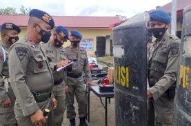 Brimob Bone Matangkan Persiapan Pengamanan PON Papua