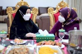Naoemi Octarina Terima Kunjungan Silaturahmi Istri Menpora