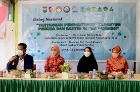 Naoemi Octarina Dampingi Istri Menpora Hadiri Vaksinasi untuk Negeri di Pesantren An Nahdlah Makassar