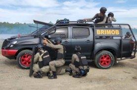 Detasemen Anti Anarki 45 Brimob Bone Bubarkan Massa di Kampung Nelayan Bajoe