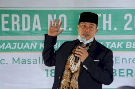 Saharuddin Sosialisasi Perda Pelestarian dan Pemajuan Kebudayaan Tak Benda di Enrekang