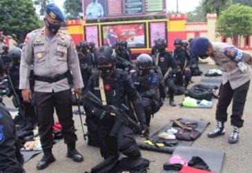 Pengamanan PON Papua, Danyon Brimob Bone Lakukan Hal Ini