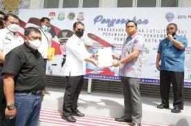 Sekda Terima PSU Perumahan dari Pengembang kepada Pemkot Makassar